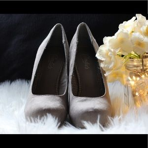 Women shoes brand Candies grey chunky shoes